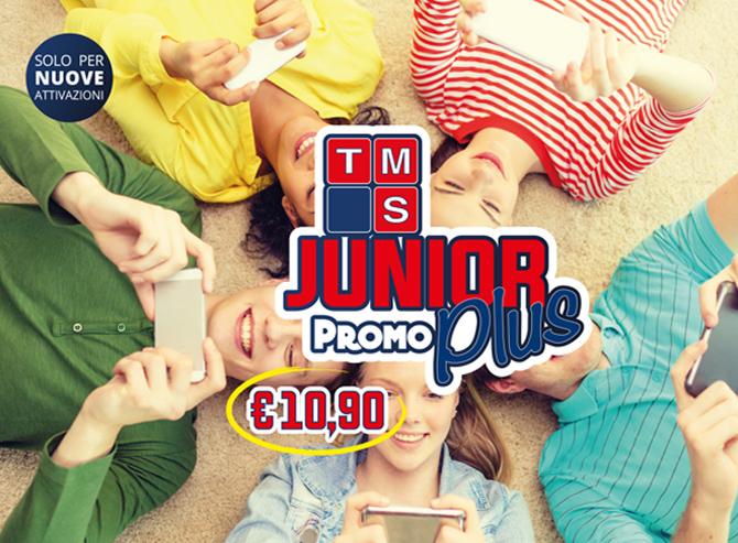 JUNIOR Plus + 2GB € 10,90
